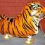 Tiger Walking Balloons - เจ้าเสือบอลลูน / Item No. TL-K006 thumbnail 1