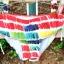 พร้อมส่ง ชุดว่ายน้ำคู่รัก บิกินี่ เซ็ต 3 ชิ้น colorful สีสันสดใส (บรา+บิกินี่+ผ้าคลุมซีทรู) thumbnail 29