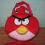 กระเป๋าถือได้ สะพายได้ Angry bird สีเแดง ของใหม่!! thumbnail 1