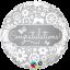 ลูกโป่งฟอลย์ทรงกลมแสดงความยินดี RND CONGRATULATIONS BURRERFILES/ Item No.TQ-17074 แบรนด์ Qualatex thumbnail 1