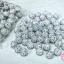 บอลเพชร เกรดดี สีขาวเพชรสีรุ้ง 12 มิล (1ห่อ/100ชิ้น) thumbnail 1