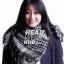 ผ้าพันคอชีมัคลายตาราง : สีขาวดำ thumbnail 3
