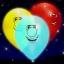 ลูกโป่งคละสี พิมพ์ลายหน้ายิ้ม Smiley แพ็ค 5 ชิ้น ไฟกระพริบ (Smiley latex Balloon - LED RGB Mode) thumbnail 4