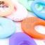 ลูกปัดพลาสติก สีพาลเทล หยดน้ำ คละสี 23X33มิล(1ขีด/100กรัม) thumbnail 1
