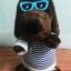 ตุ๊กตาน้องหมา สีน้ำตาล เต้นได้ มีเสียงเพลง หูขยับได้ (สินค้ามาใหม่) thumbnail 1