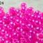 ลูกปัดมุก พลาสติก สีชมพู 8 มิล (1ขีด/100กรัม) thumbnail 1
