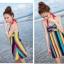 พร้อมส่ง 2XL ชุดว่ายน้ำวันพีซ สายคล้องคอ หลากสีสันสุดสวย thumbnail 9