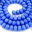 คริสตัลจีน ทรงซาลาเปา สีน้ำเงินขุ่น 6มิล(1เส้น) thumbnail 1