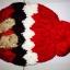 หมวกไหมพรมแฟชั่นเกาหลีพร้อมส่ง ทรงดีไซต์เก๋ ลายโบว์ลูกใหญ่ มีจุก สีแดง thumbnail 4