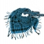 ผ้าพันคอชีมัค : สีฟ้าน้ำทะเล thumbnail 8