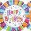 ลูกโป่งฟลอย์นำเข้า Radiant Birthday / Item No. AG-A119981 แบรนด์ Anagram ของแท้ thumbnail 3