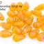 ลูกปัดแก้ว ทรงหยดน้ำ สีเหลืองเจียรเหลี่ยม 10x15 มิล (1ขีด/100กรัม) thumbnail 1