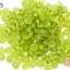 ลูกปัดแก้ว ทรงจานบิน สีเขียวตอง 6มิล(1ขีด/100กรัม) thumbnail 1