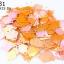 เลื่อมข้าวหลามตัด สีส้มเหลือบ 11X15มิล thumbnail 1