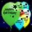 ลูกโป่ง LED พิมพ์ลาย Happy Birthday คละสี แพ็ค 5 ชิ้น ไฟสลับสี (LED Balloon Happy Birthday Mixed Color - LED RGB) thumbnail 1
