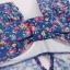 PRE ชุดว่ายน้ำวันพีซ สไตล์วินเทจ floral สวยๆ กระโปรงระบาย แอบเซ็กซี่ใต้ราวบรา ด้านในเปนกางเกงบิกินี่ thumbnail 14