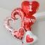 ลูกโป่งฟลอย์รูปหัวใจ สีแดง I LOVE YOU ต่อกัน-Love Series Heart Shape Foil Balloon / Item No.TL-E050 thumbnail 5