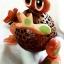 โคมไฟกะลามะพร้าวกบน้อย Coconut Shell Lamp (Frog) thumbnail 2