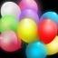 ลูกโป่ง LED สีขาว แพ็ค 5 ชิ้น ไฟสลับสี RGB mode (LED White Balloon - LED RGB Mode) thumbnail 5