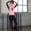 ชุดว่ายน้ำขายาวแขนยาว สีชมพู เซ็ต 4 ชิ้น (สปอร์ตบรา+เสื้อแขนยาว+บิกินี่+ขายาว) thumbnail 9