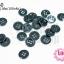 กระดุมพลาสติก สีดำ 15มิล(1ขีด/100กรัม) thumbnail 1