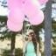 """ลูกโป่งกลม สีชมพู ไซส์ 18 นิ้ว จำนวน 1 ใบ (Round Balloon - Standard Pink Color 16"""") thumbnail 1"""