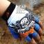 ถุงมือ MT07 - Blue Skull - Free size thumbnail 4
