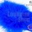 ขนนกมีริบบิ้น สีน้ำเงิน ยาว 5 ซม.(มี5ชิ้น) thumbnail 1
