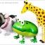 French Bull Dog Walking Balloons - เฟรนช์ บูลด็อก บอลลูน / Item No. TL-K020 thumbnail 8