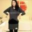 MK181 เสื้อให้นมแฟชั้นเกาหลี 2 in 1 โทนสีเทา ตัวในสีดำ แขนยาว สามารถเปิดให้นมน้องได้ เนื้อผ้านิ่มมากๆ ค่ะ ใส่สบาย thumbnail 1