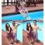 พร้อมส่ง ชุดว่ายน้ำคู่รัก ชุดว่ายน้ำบิกินี่ทูพีซ สายคล้องคอ ลายสตรอเบอร์รี่น่ารักๆ พร้อมเดรสคลุมสวยๆ กางเกงผู้ชายลายเดียวกัน thumbnail 5