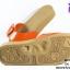 รองเท้าแตะ Monobo Jello โมโนโบ้ รุ่น เจลโล่ สวม สีส้ม เบอร์ 5-8 thumbnail 4