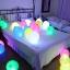 ลูกโป่ง LED คละสี แพ็ค 5 ชิ้น ไฟค้าง (LED Multi Color Balloon - LED Fixed Mode) thumbnail 2