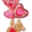 ลูกโป่งฟลอย์นำเข้า Love You Floating Bear / Item No. AG-25526 แบรนด์ Anagram ของแท้ thumbnail 2