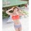 PRE ชุดว่ายน้ำบิกินี่ บรามีโครง สายคล้องคอ กางเกงบิกินี่ พร้อมเสื้อคลุมลายสวยเก๋ thumbnail 31