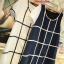 K4015 เสื้อคลุมท้องแฟชั่นเกาหลี มี 2 สีให้เลือก ลายตารางแขนแต่งด้วยผ้าลูกไม้มีซัปในทั้งตัว งานดีค่ะ thumbnail 8