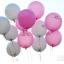 """ลูกโป่งกลมพิมพ์ลาย Will You Marry Me? สีชมพู ไซส์ 12 นิ้ว แพ็คละ 10 ใบ (RฺB12"""" - Will You Marry Me? Printing Pink latex balloons) thumbnail 3"""