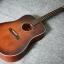 กีต้าร์โปร่ง ไฟฟ้า Electrical Guitar Sen รุ่น Profesional Top solid spruce thumbnail 1