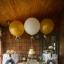 """ลูกโป่งกลมจัมโบ้ไซส์ใหญ่ 30""""Latex Balloon RB Gold สีทอง/ Item No.TQ-38422 แบรนด์ Qualatex thumbnail 2"""