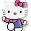 ลูกโป่งฟลอย์นำเข้า Hello Kitty Pink & Purple / Item No. AG-16800 แบรนด์ Anagram ของแท้ thumbnail 1