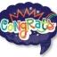 ลูกโป่งฟลอย์นำเข้า Congrats Word Bubble / Item No. AG-26819 แบรนด์ Anagram ของแท้ thumbnail 1