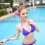 พร้อมส่ง ชุดว่ายน้ำ Bikini ผูกข้าง สายคล้องคอ สุดเซ็กซี่ thumbnail 7