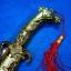 มีดนักรบจีน ทรงโบราณ ใบมีดสแตนเลสสตีล ตัวโลหะ thumbnail 6