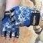 ถุงมือ ML02 - Blue - Free size thumbnail 1