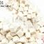 หินปะการัง สีขาว ทรงลูกเต๋า 12มิล (จีน) (1เส้น) thumbnail 1