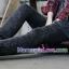 กางเกงยีนส์เดฟขายาว สีโทนดำ : SIZE XXL รหัส PN063 thumbnail 8