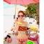 พร้อมส่ง ชุดว่ายน้ำบิกินี่ทูพีซ ลายแตงโมสีสันสดใสน่ารักมากจ้า thumbnail 1
