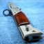 มีดพับ มีดสปริง ขนาดกลาง ทรง ดาบปลายปืน อาก้า AK-47 thumbnail 7
