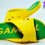 รองเท้าแตะ GAMBOL แกมโบล รุ่น GM 43102 สีเหลือง/เขียว เบอร์ 4-9 thumbnail 4