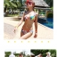 พร้อมส่ง ชุดว่ายน้ำบิกินี่ทูพีซ ลวดลายสีสันสดใส thumbnail 7